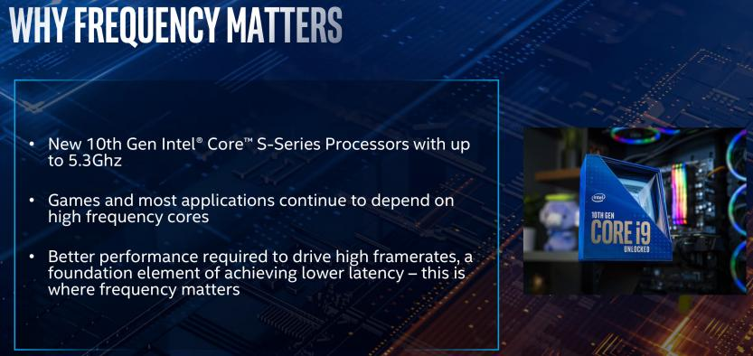 10 th gen intel core why frequency matters