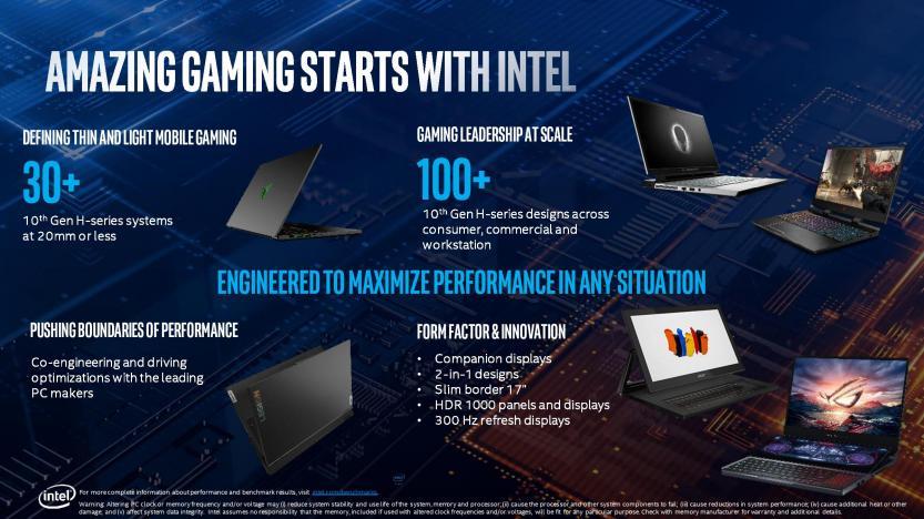Lancio Intel Comet Lake 10 generazione aziende partner