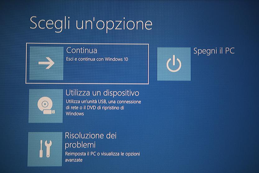 risoluzione problemi windows