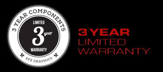 XFX RX 5700 DD ULTRA garanzia di tre anni