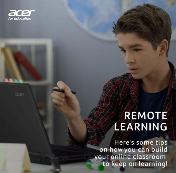 Acer Education Remote Learning Didattica a distanza