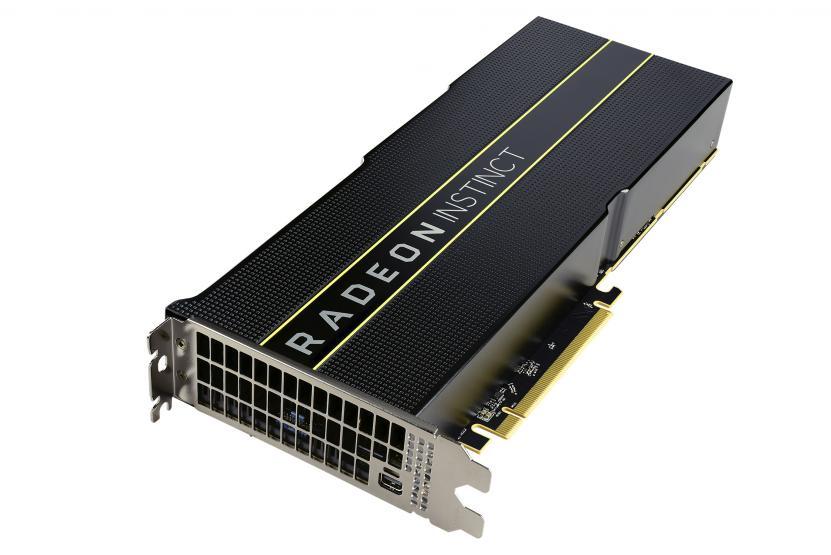 AMD Radeon Instinct mi50 contro covid-19