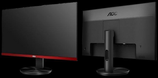 AOC G2590FX fronte e retro