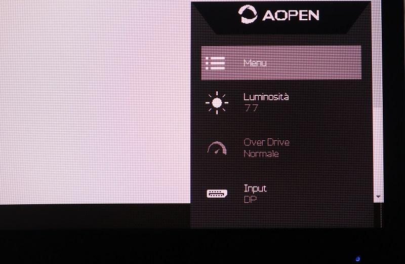 Aopen 32hc1qurpbidpx menu rapido