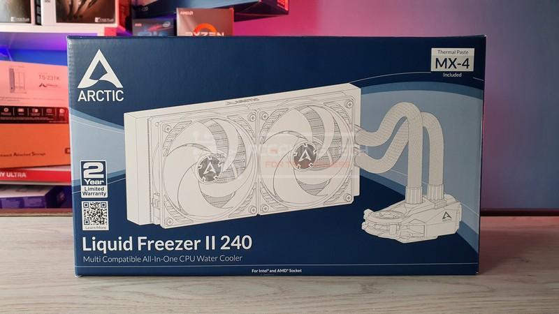 arctic liquid freezer ii 240 recensione 001