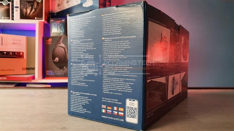 arctic liquid freezer ii 240 recensione 002