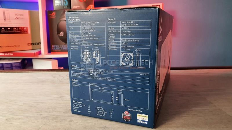 arctic liquid freezer ii 240 recensione 004