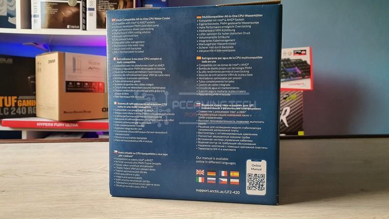 arctic liquid freezer ii 240 recensione review 003