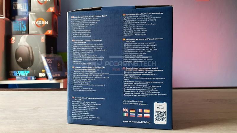 arctic liquid freezer ii 280 recensione 002