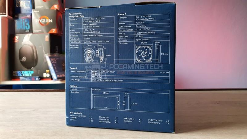 arctic liquid freezer ii 280 recensione 003