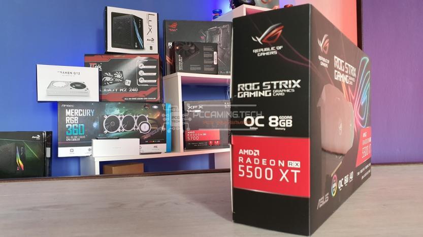 ROG STRIX RX5500XT O8G GAMING