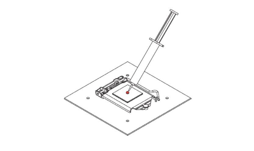 Noctua NH-L9i installazione step1