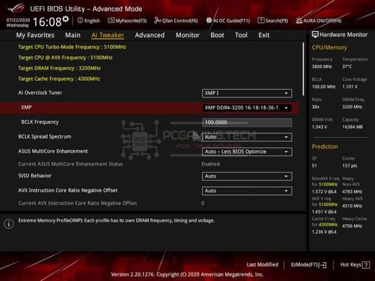 asus rog strix z490 e gaming bios 02