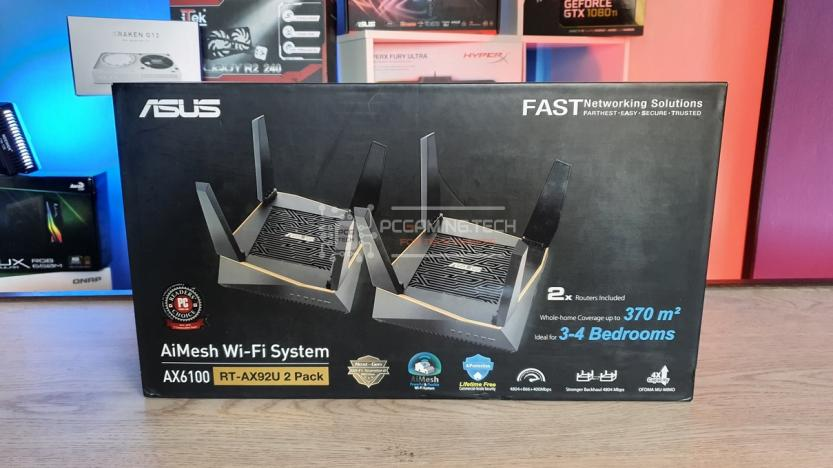 ASUS RT-AX92U 2 PACK: box front