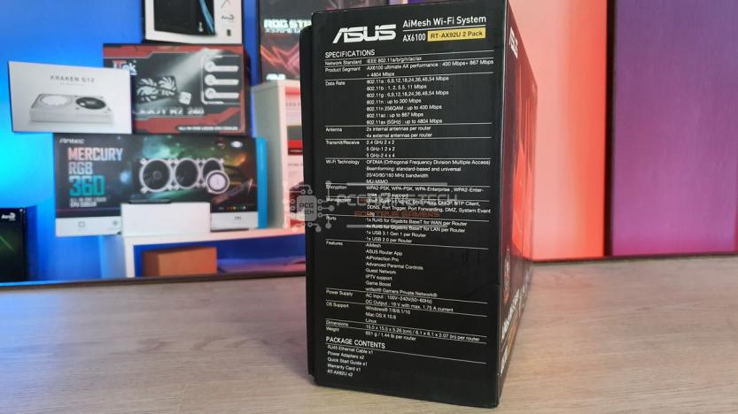 ASUS RT-AX92U 2 PACK: spec side