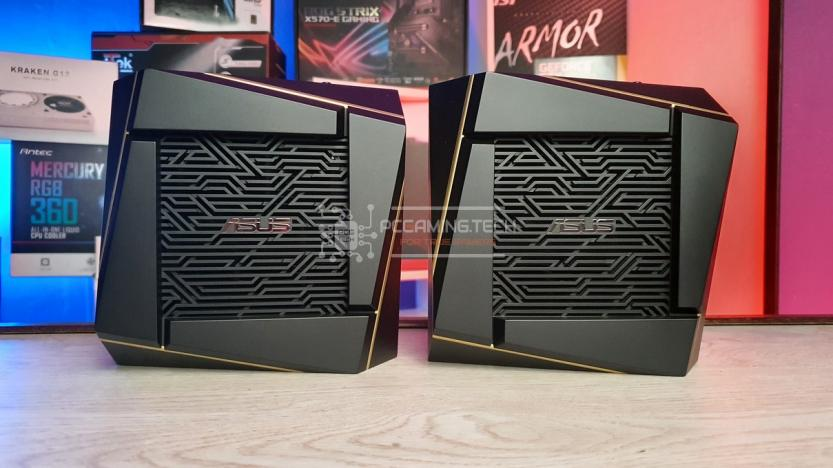 ASUS RT-AX92U 2 PACK: front