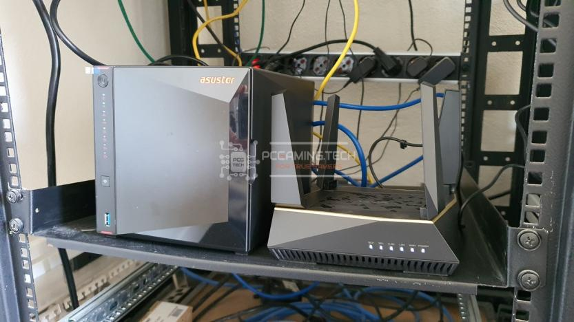 Asus RT-AX92U e Asustor Nimbustor 4 benchmark 2