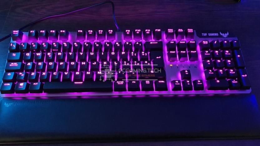 Asus Tuf gaming k7 rgb illumination