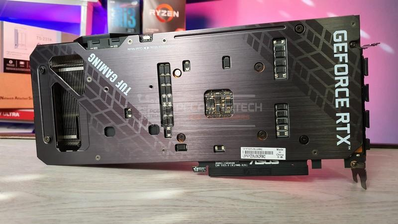 asus tuf rtx 3070 oc recensione review 013