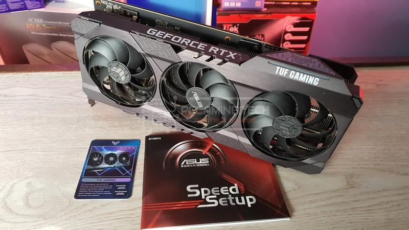 asus rog strix rtx 3070 oc recensione review 009