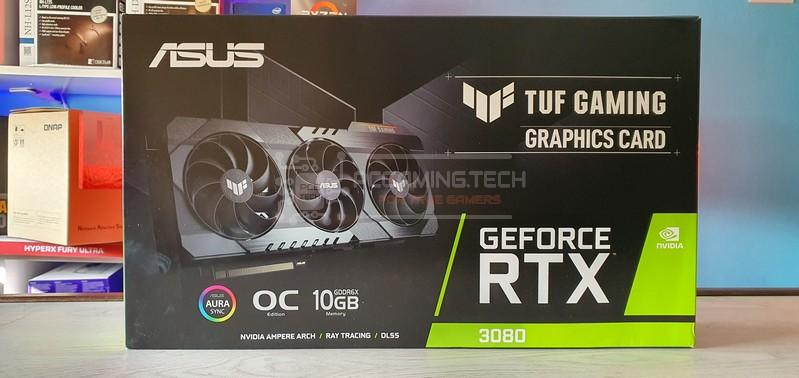 asus tuf rtx 3080 oc recensione review 007