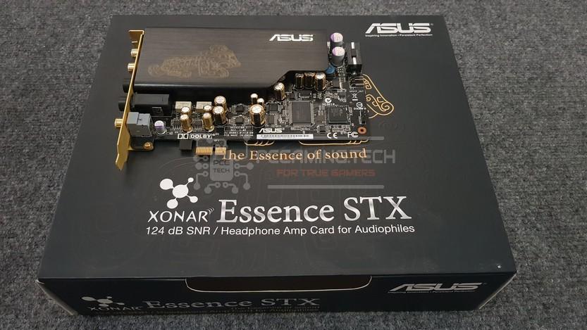 asus xonar essence stx silverstone gd04 recensione