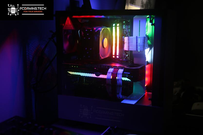 case h510i nzxt build assemblata luci led