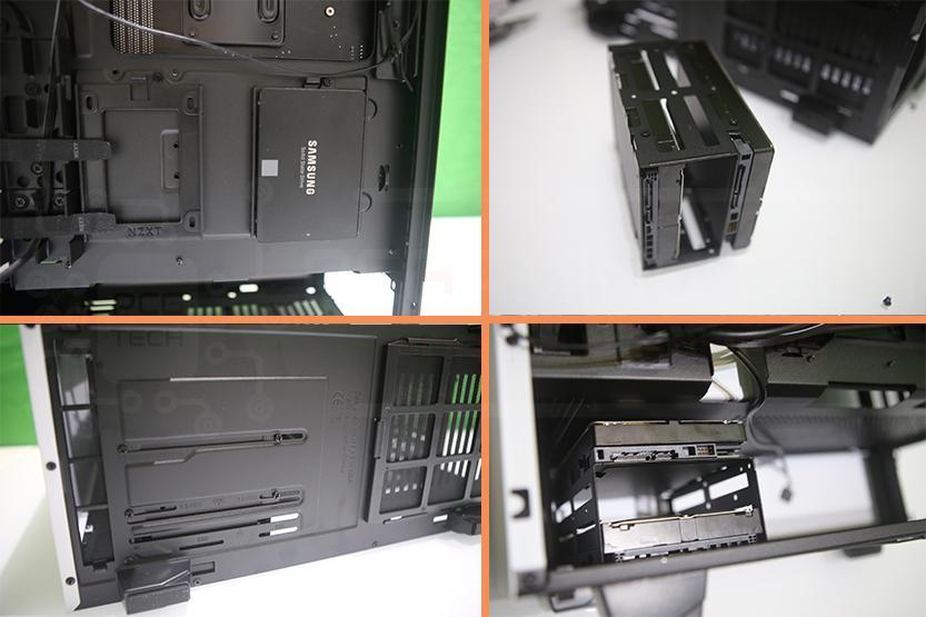 case h510i nzxt installazione hard disk