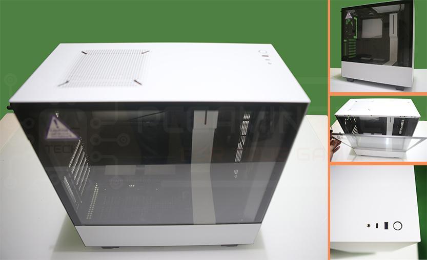 case h510i nzxt visione superiore e dettaglio front panel