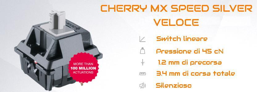 SWITCH CHERRY MX SILVER SPEED