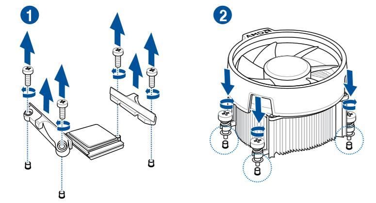 come montare dissipatore amd type 2