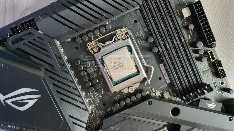 come montare un processore asus rog strix z490 e gaming ok
