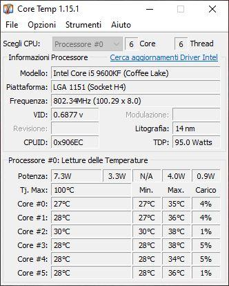 Software Core Temp