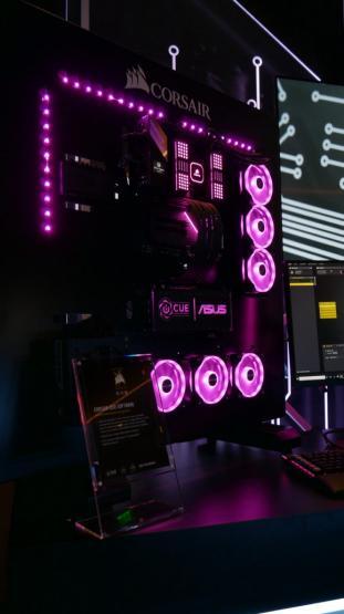 ASUS Aura Sync and Corsair iCUBE RGB