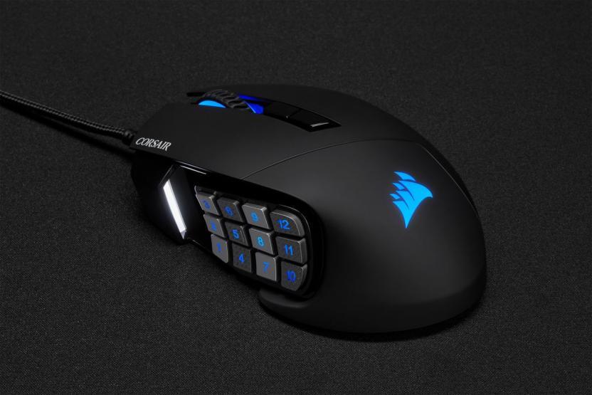 corsair mouse gaming scimitar rgb elite