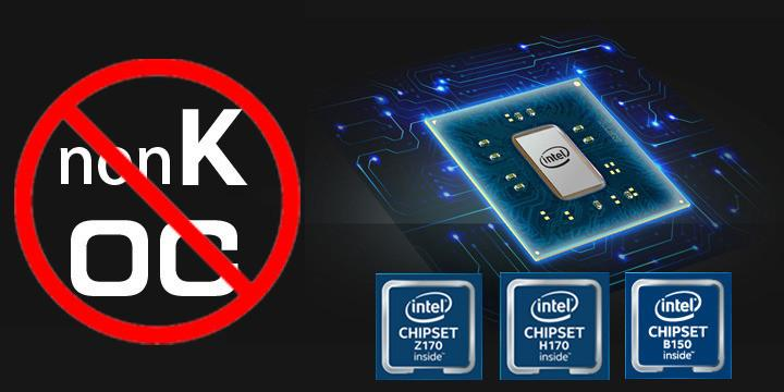 Cpu Intel K e overclock