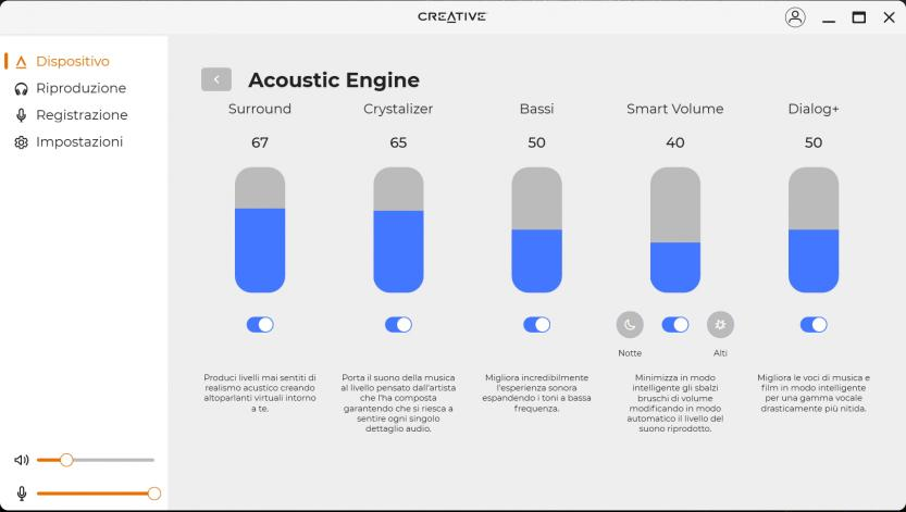 creative sound blaster play 4 creative app acoustic engine
