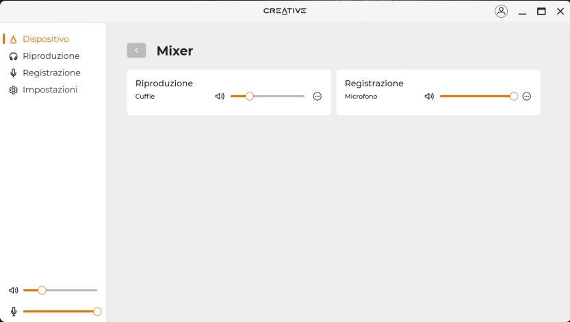 creative sound blaster play 4 creative app mixer