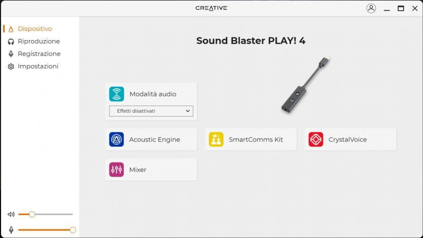 creative sound blaster play 4 creative app
