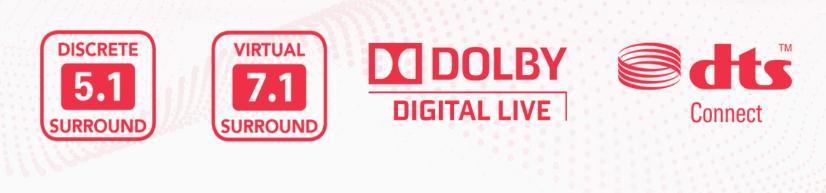 creative sound blaster z se dolby digital dts