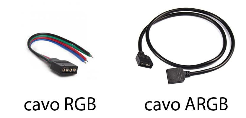 Differenza dei cavi ARGB e RGB