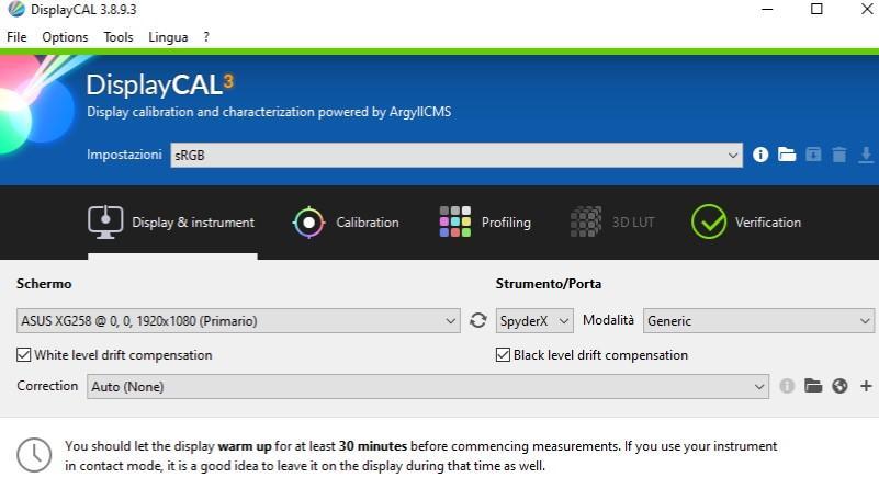 displaycal_impostazioni_generali.jpg