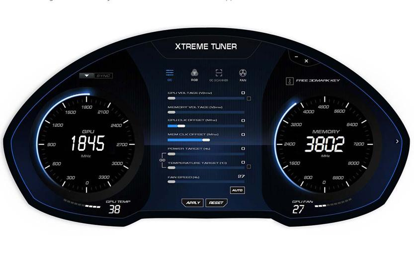 Galax Extreme Tuner software