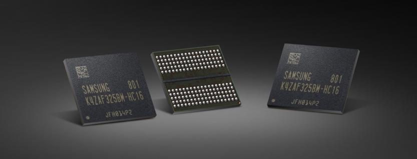 Chip VRAM Samsung GDDR6