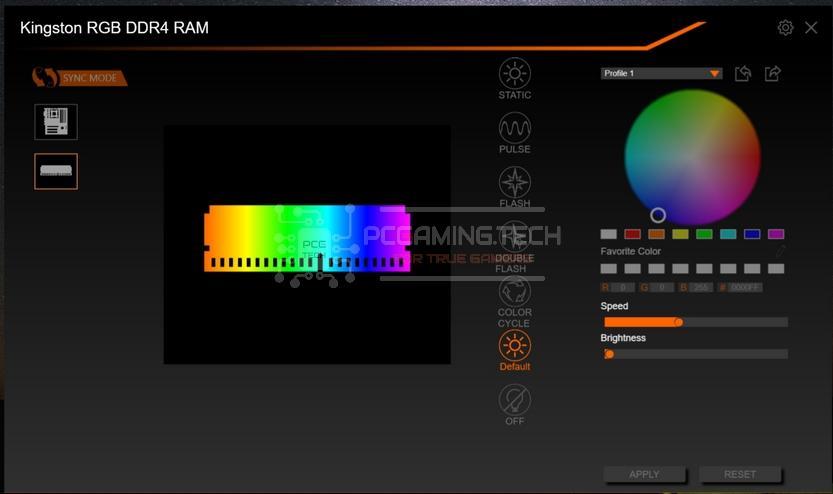 hyperx fury ddr4 rgb 32 gb 3200 mhz gigabyte rgb fusion 2