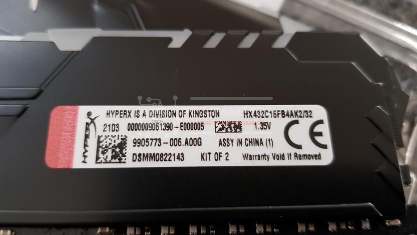 hyperx fury ddr4 rgb 3200 mhz 32 gb cl16_5