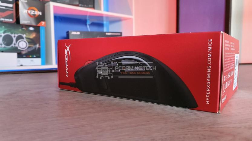 Mouse Gaming HyperX Pulsefire Raid package