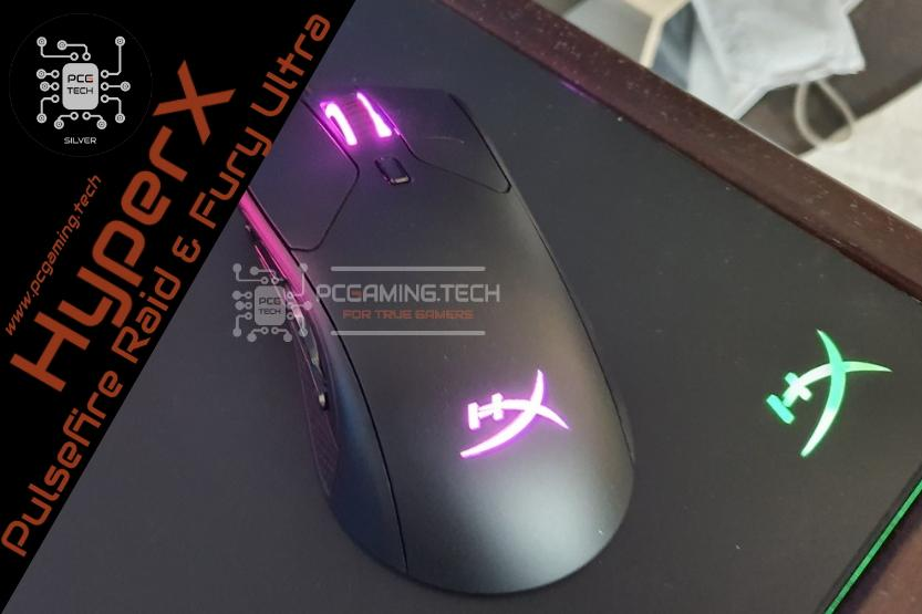 Mouse HyperX Pulsefire Raid e HyperX Mouse Pad Fury Ultra - Recensione