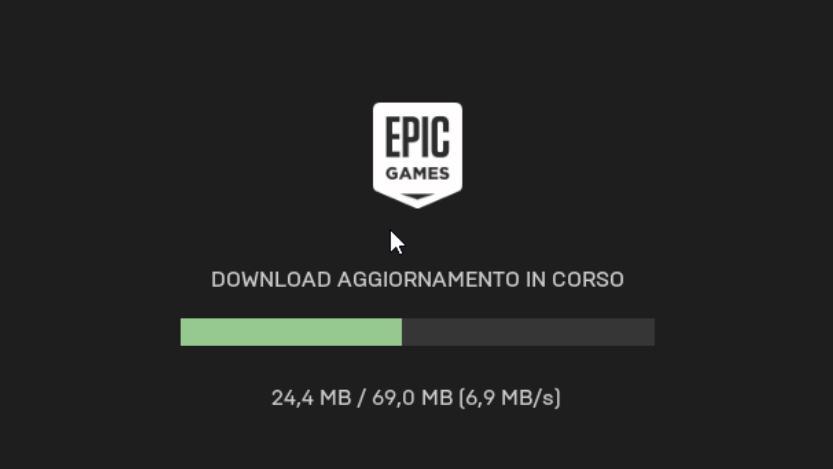 installazione launcher epic games