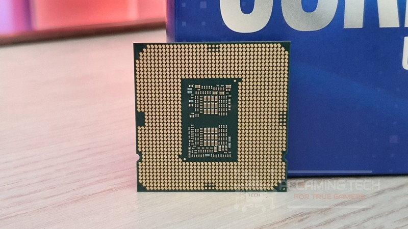 Intel i7-10700K rear